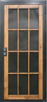Front Door Security Bar Image collections - Doors Design Ideas