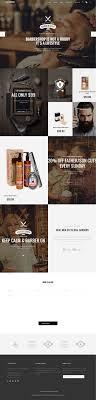 Barber Shop Website Barber Shop Ideas Barber Shop Design Modern Barber Shop Weblayout