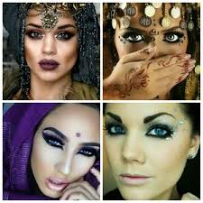 along here are some makeup ideas similar to that of the romani people