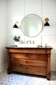 ideas undermount sinks awesome traditional powder room with an antique french empire chest repurposed as a vanity full also