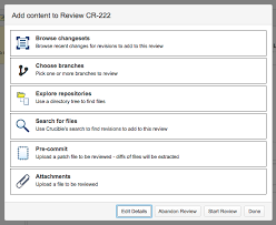 Adding content to the review - Atlassian Documentation