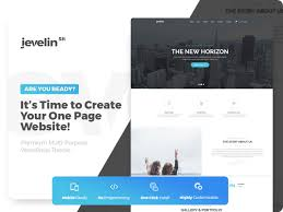 One Product Website Design 40 Best One Page Wordpress Themes 2019 Colorlib