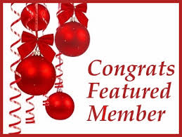 Image result for congrats featured member