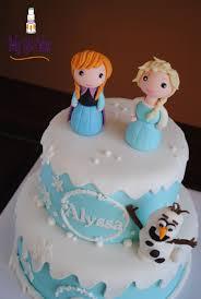 Frozen s Anna Elsa Olaf Cake Tutorials Pinterest Elsa.