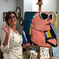 4 week beginner acrylic painting class
