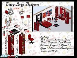 top picture of betty boop bedroom set
