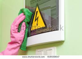 clean house stock images royalty images vectors shutterstock hand in pink protective glove rag wiping a electricity fuse box early spring cleaning