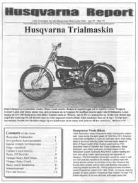 husqvarna motorcycle club the newsletter 12 husqvarna report was issued 5 10 99 and