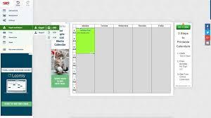 free schedule builder schedule builder online