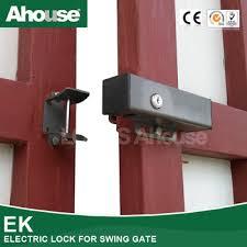 Electric garage door lock Heavy Duty Ahouse Electric Automatic Lock For Garage Swing Door The Safe House Ahouse Electric Automatic Lock For Garage Swing Door Buy Locks For