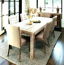 light oak dining table and chairs round room new kitchen or wooden