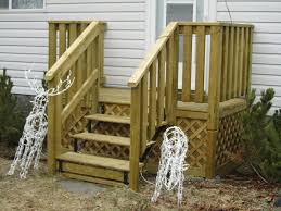 simple porch stair railing hand rails for decks37