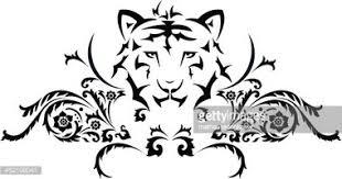 Tiger Tetování Vektory Z Knihovny Clipartme