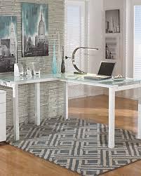 home office desks. Large Baraga 61\ Home Office Desks