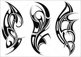 Maori Stylem Vzor Tetování Na Rameno Stock Vektor Ksyshakiss