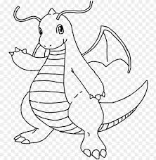Color them in online, or print them out and use crayons, markers, and paints. Image Result For Pokemon Dragonite Coloring Pages Coloring Pokemon Coloring Pages Dragonite Png Image With Transparent Background Toppng
