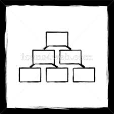 Sketch Org Chart Organizational Chart Sketch Icon