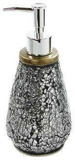 decorative bathroom soap dispensers. fine dispensers round silver decorative pottery soap dispenser contemporarysoapandlotion dispensers intended bathroom dispensers