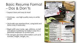Resume Paper Target