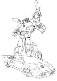 Transformers Robots In Disguise Kleurplaat Transformers Robots In