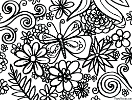 Free Coloring Pages Spring Coloring Pages For Spring Spring Coloring