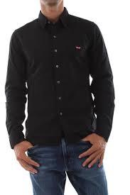 SHIRT Men <b>LEVIS</b> 74389 0002 <b>LS BATTERY</b> 0002 T shirt BLACK ...