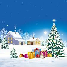 Gifts Background Fashion Christmas Photography Backdrops Vinyl Scene Backgrounds Attractive Christmas Tree Gifts Background