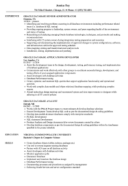 Database Designer Resume Oracle Database Resume Samples Velvet Jobs 9