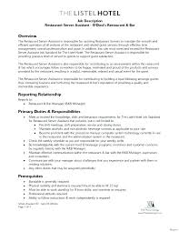 Assistant Operation Manager Resume Fascinating Bar Manager Resume Examples Bar General Manager Resume Example