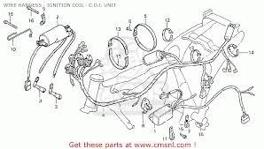 honda cb400ti 1978 wire harness ignition coil c d i wire harness ignition coil c d i unit schematic