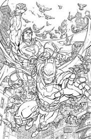 batman superman 8 coloring book variant cover ic books and cats