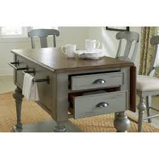 kitchen solution traditional closet: apollinaire kitchen island with wood top