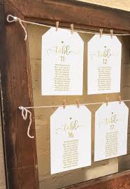Wedding Seating Chart Ideas Templates Editable Faux Gold Wedding Seating Chart Diy Printable
