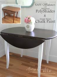 chalk paint furniture diyUpdate Wood Furniture with PolyShades  Chalk Paint  Artsy Chicks
