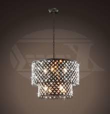 bronze and crystal chandeliers regarding latest bella jean antique bronze 8 light double round crystal chandelier