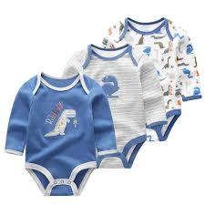 <b>5 PCS</b>/<b>lot</b> winter long <b>sleeve</b> newborn <b>baby</b> bodysuit cotton <b>baby</b> ...