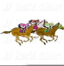 horse racing clipart. Interesting Racing Horse Racing Track Clipart Image For T