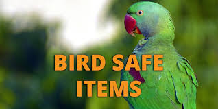 bird safe itematerials