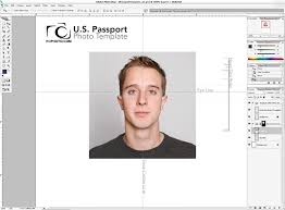 Us Passport Template Psd Photoshop Passport Photo Template V1 1 Nicmyers Com