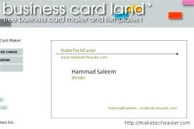 how to create business cards in word create business card template cards online choice image