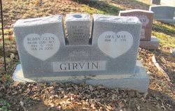Bobby Glen Girvin (1933-2009) - Find A Grave Memorial