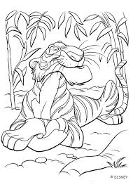 human village the jungle book coloring page pages disney princess printable 2 books