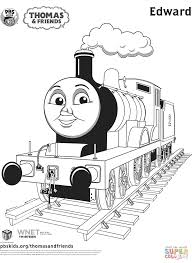 Small Picture Edward from Thomas Friends coloring page Free Printable