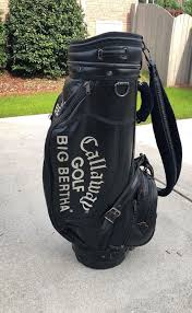 vintage callaway big bertha staff golf bag leather for in greer sc offerup