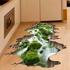 Small Picture Buy 3D Stream Floor Decor Wall Sticker Removable Mural Decals