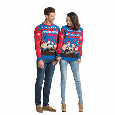Funny Rude Trump Mens Ugly Christmas Sweater Couples | You Look Today