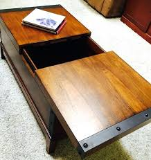 coffee table with sliding top storage coffee table inspiring sliding top with bayside furnishings storage coffee