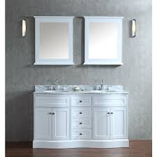 60 inch bathroom mirror. Ariel Bath SCMON60SWH By SeaCliff Designs Bathroom Vanity 60 Inch Mirror L