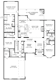 house plans with open floor plan. Open Floor Plan House Plans One Story Cool With Design P