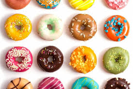 donut desktop wallpaper. Simple Desktop Colorfuldonutsfoodwidewallpaper To Donut Desktop Wallpaper